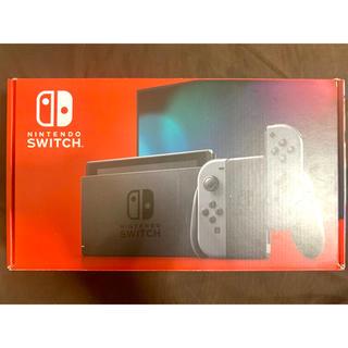 ニンテンドースイッチ(Nintendo Switch)のNintendo Switch本体 グレー(新型)(家庭用ゲーム機本体)