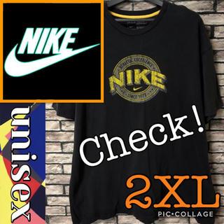 ナイキ(NIKE)のナイキ NIKE 90s プリントロゴ Tシャツ クルーネック ブラック 半袖(Tシャツ/カットソー(半袖/袖なし))