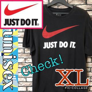 ナイキ(NIKE)のNIKE ナイキ Tシャツ Just do it 半袖 ビッグロゴ スウォッシュ(Tシャツ/カットソー(半袖/袖なし))