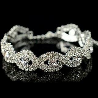 SWAROVSKI - fc32❇️ビータ❇️スワロフスキー クリスタル ダイヤモンドCZ ブレスレット