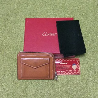 Cartier - 希少☆カルティエ carter ミニ財布 小銭入れ コインケース