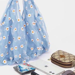 ザラ(ZARA)のデイジー刺繍花柄バック 💕可愛い💕(トートバッグ)