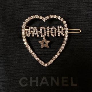 ディオール(Dior)のハートヘアピン(ヘアピン)