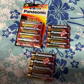 パナソニック(Panasonic)の単三形アルカリ乾電池(日用品/生活雑貨)
