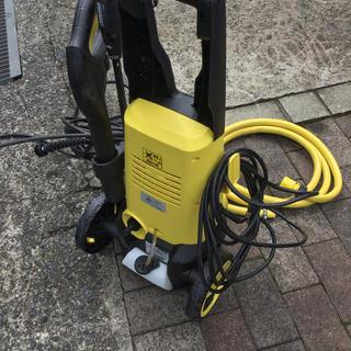 ケルヒャー :KARCHER 高圧洗浄機 中古品(洗車・リペア用品)