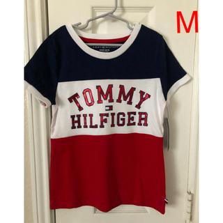 TOMMY HILFIGER - Tommy Hilfiger トリコロールカラー ロゴTシャツ サイズM