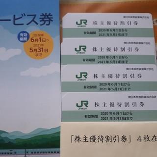 JR東日本株主優待 4枚