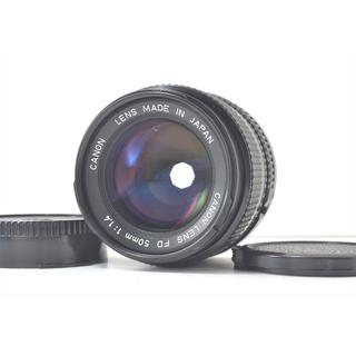キヤノン(Canon)のCanon キャノン New FD 50mm f/1.4 NFD MF 動作品 (レンズ(単焦点))
