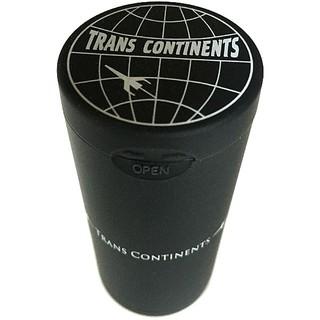 TRANS CONTINENTS - TRANS CONTINENTSトランスコンチネンツハニカム携帯灰皿 ブラック