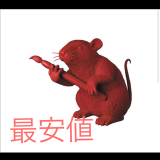 メディコムトイ(MEDICOM TOY)のLOVE RAT(RED Ver.) MCT TOKYO バンクシー(彫刻/オブジェ)