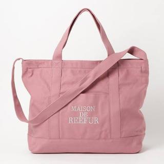 Maison de Reefur - メゾンドリーファー トートバッグ ピンク 美品♡