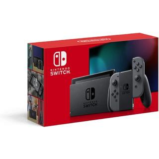 任天堂 Nintendo Switch グレー 新型 新品 スイッチ 本体(家庭用ゲーム機本体)