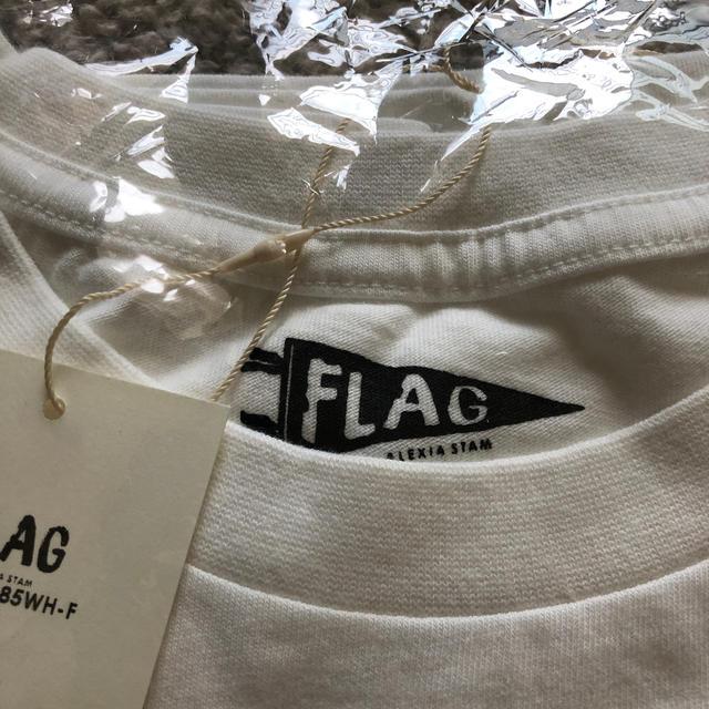 ALEXIA STAM(アリシアスタン)のALEXIA STAM アリシアスタン Tシャツ 新品未開封 フリー 山中美智子 レディースのトップス(Tシャツ(半袖/袖なし))の商品写真
