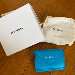 バレンシアガ(Balenciaga)のバレンシアガペーパーミニウォレット(財布)