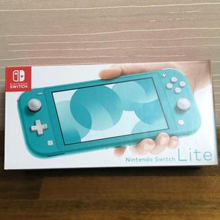 ニンテンドースイッチ(Nintendo Switch)のNintendo Switch Lite スイッチライト本体 ターコイズ 任天堂(家庭用ゲーム機本体)