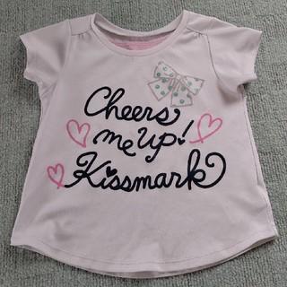 キスマーク(kissmark)のkissmark 半袖Tシャツ 120(Tシャツ/カットソー)