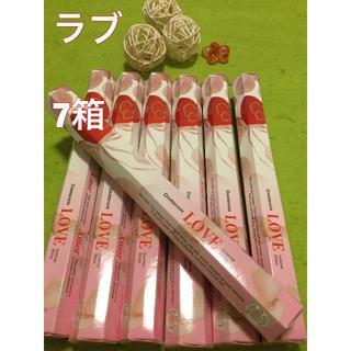 お香 ダルシャン  ラブ 7箱セット スティック #香る城NET(お香/香炉)