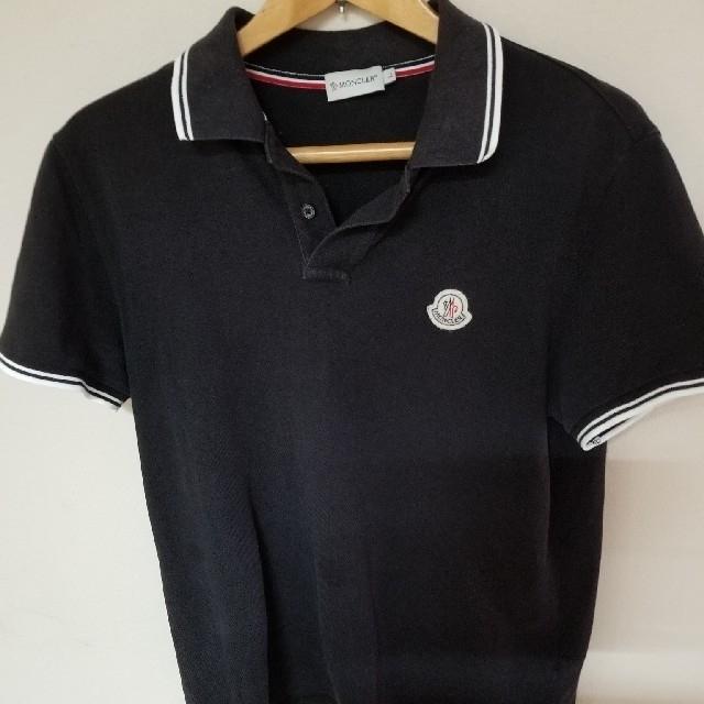 MONCLER(モンクレール)のモンクレールポロシャツ メンズL メンズのトップス(ポロシャツ)の商品写真