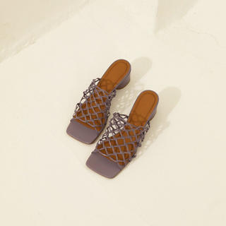 TODAYFUL - TODAYFUL 新作 Leather Mesh Sandals サンダル 37