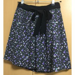 anySiS - 花柄スカート ミニスカート フレア