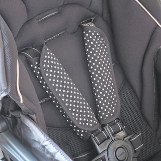 ベビーカー チャイルドシート用ベルトカバー ドット(ベビーカー/バギー)