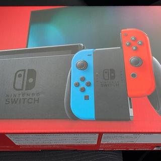 ニンテンドースイッチ(Nintendo Switch)の【新モデル】Nintendo Switch 本体(家庭用ゲーム機本体)