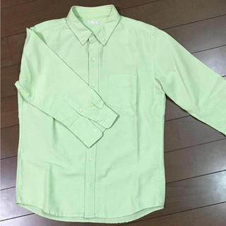 ジーユー(GU)のGU メンズ七分袖シャツ M(シャツ)
