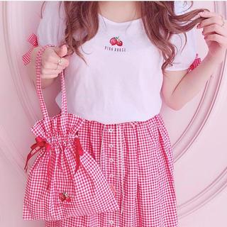 PINK HOUSE - pinkhousechelsea ストロベリーカットソー