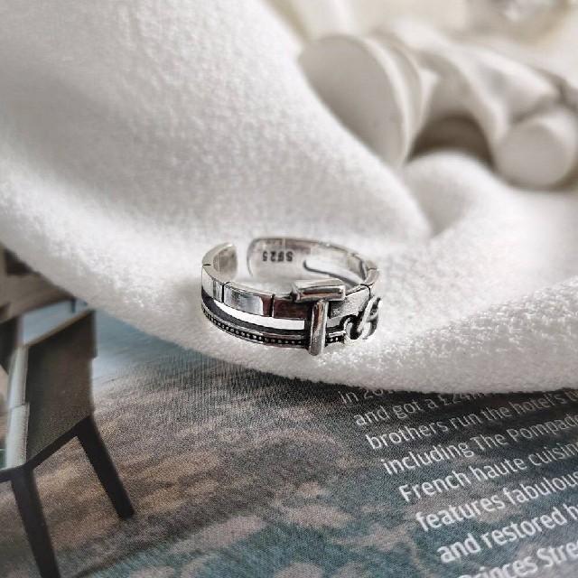 TODAYFUL(トゥデイフル)のsilver925  デザイン シルバーリング 指輪シルバー925 レディースのアクセサリー(リング(指輪))の商品写真
