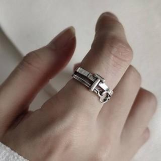 TODAYFUL - silver925  デザイン シルバーリング 指輪シルバー925