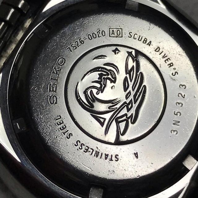 SEIKO(セイコー)のセイコー ネイビーボーイ スキューバダイバー 7S26-0020ジュビリーブレス メンズの時計(腕時計(アナログ))の商品写真