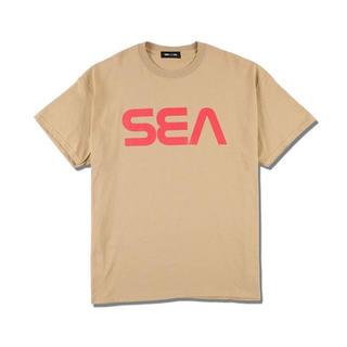 Supreme - 【新品未使用】WIND AND SEA  Tシャツ L beige ベージュ