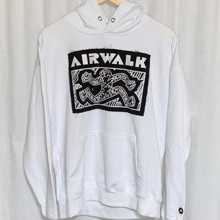 エアウォーク(AIRWALK)の未使用品 AIR WALK デカロゴ プルオーバーパーカー (パーカー)