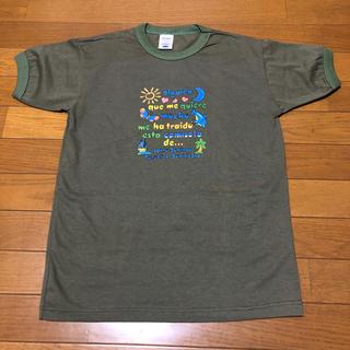 オールドネイビー(Old Navy)のOLD NAVY オールドネイビー 丸首 Tシャツ レデース キッズ 未使用品(Tシャツ(半袖/袖なし))
