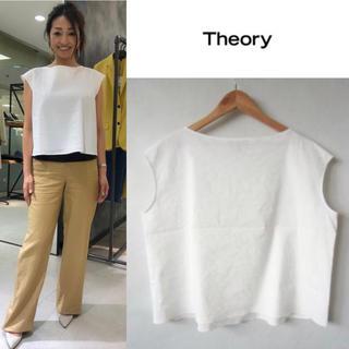 theory - 定価26400円 2019SS   セオリー リネン カットソー S