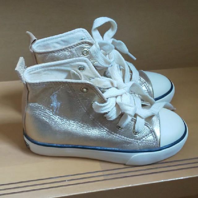 POLO RALPH LAUREN(ポロラルフローレン)のポロラルフローレン  キッズスニーカー キッズ/ベビー/マタニティのキッズ靴/シューズ(15cm~)(スニーカー)の商品写真