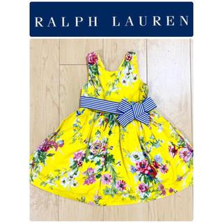 Ralph Lauren - ラルフローレン 派手 花柄 ワンピース