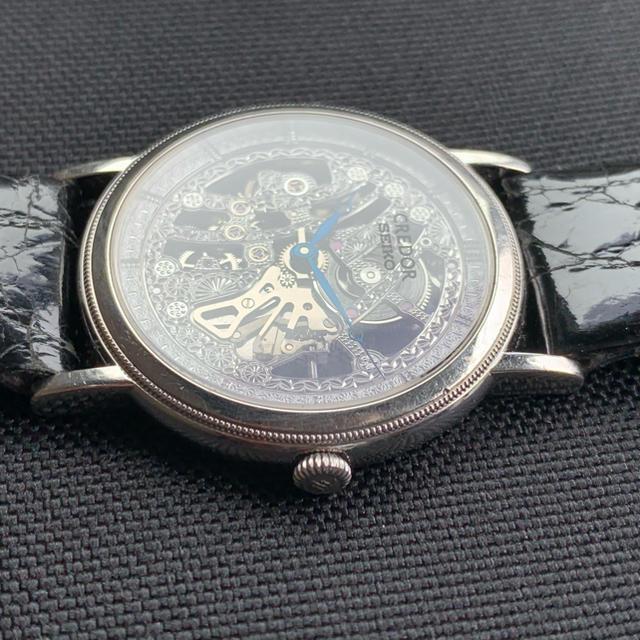 SEIKO(セイコー)のクレドール シグノ PT950 6899A 手巻き 腕時計 本物 美品 メンズの時計(腕時計(アナログ))の商品写真