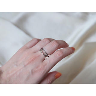 ディーホリック(dholic)の𓊆silver925メッキ𓊇3連ring(リング(指輪))