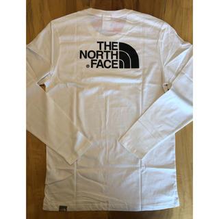 THE NORTH FACE - 【Lサイズ】The North Face ロンT ノースフェイス ホワイト