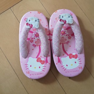 サンリオ - キティちゃん 草履  16センチ
