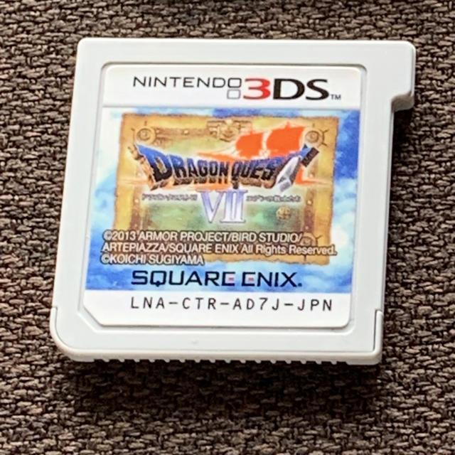 ニンテンドー3DS(ニンテンドー3DS)のドラゴンクエストVII エデンの戦士たち 3DS エンタメ/ホビーのゲームソフト/ゲーム機本体(携帯用ゲームソフト)の商品写真