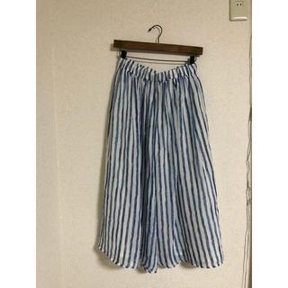 ダブルクローゼット(w closet)のwcloset * ストライプスカート 大幅値下げしました‼️(ロングスカート)
