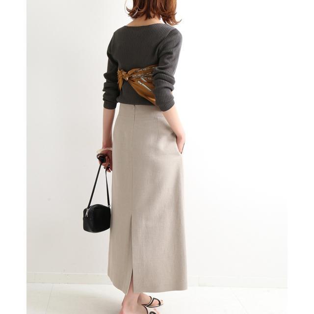 IENA(イエナ)のIENA ライトツイードスカート イエナ レディースのスカート(ロングスカート)の商品写真
