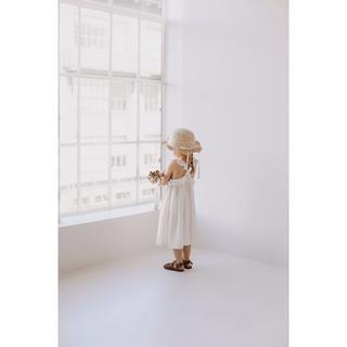 キャラメルベビー&チャイルド(Caramel baby&child )のJamie Kay -Lola Dress Coconut(ワンピース)