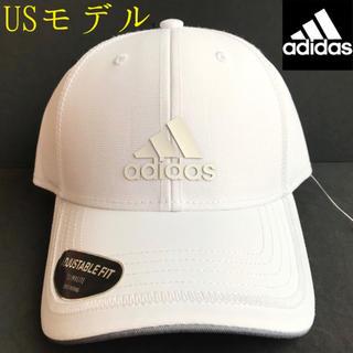 アディダス(adidas)のレア【新品】adidas アディダス USA キャップ ホワイト(キャップ)