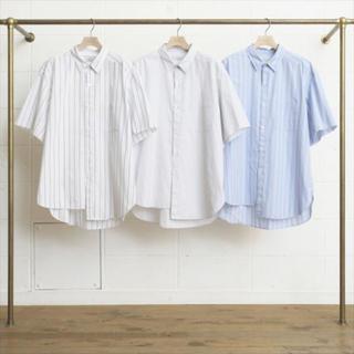 UNUSED - Unused アンユーズド ストライプシャツ シャツ