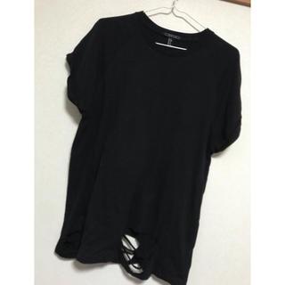 ザラ(ZARA)のZARAビッグtシャツ(Tシャツ/カットソー(半袖/袖なし))