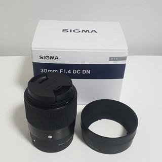 シグマ(SIGMA)のSigma 30mm f1.4 DC DN ソニーEマウント(レンズ(単焦点))