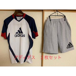 アディダス Tシャツ&ショートパンツ セット!